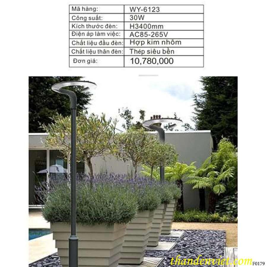 Đèn led sân vườn WY-6123 giá rẻ