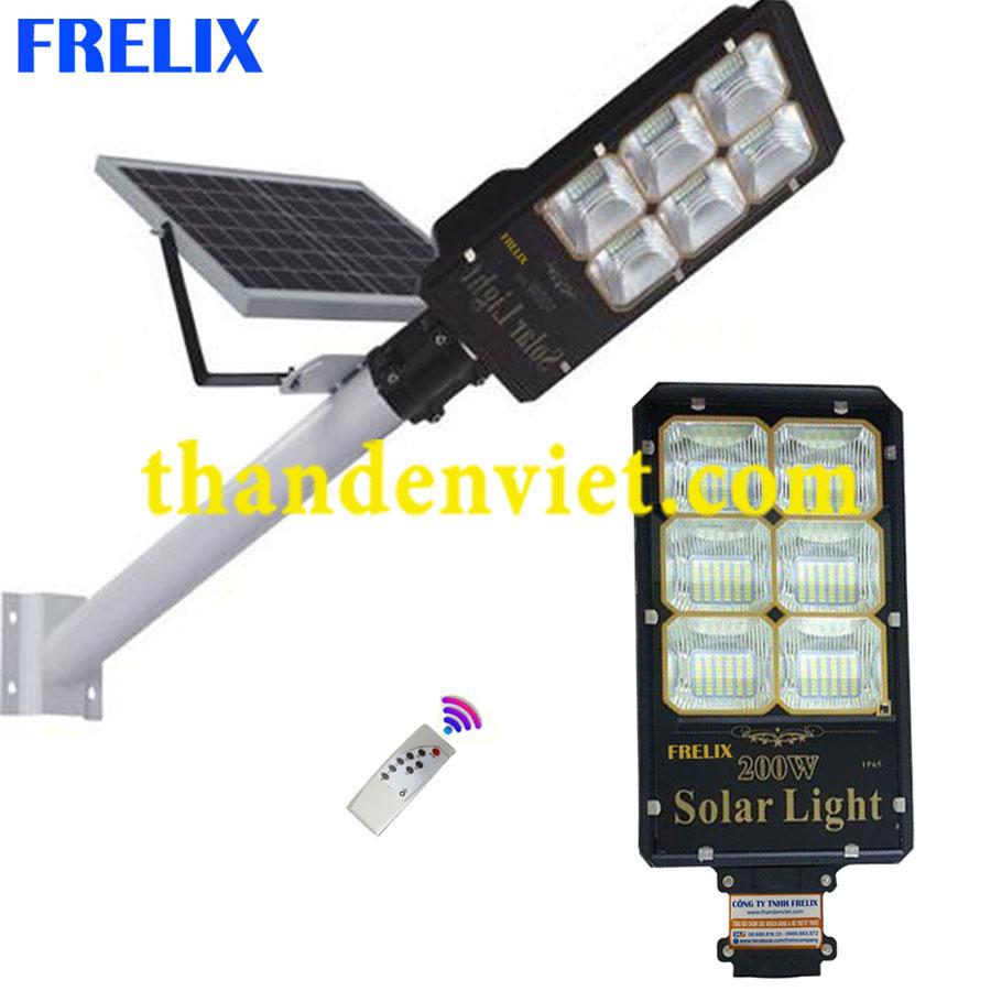 Đèn đường NL mặt trời FRELIX Solar Light 200W