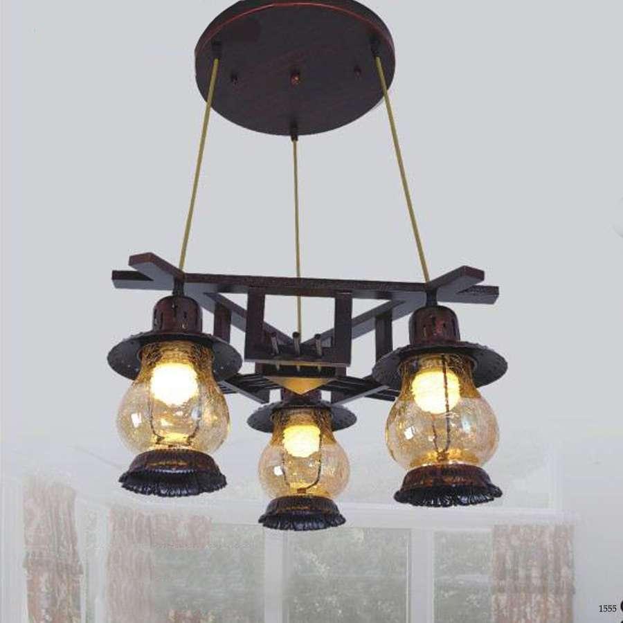 Đèn thả cổ điển thích hợp trang trí phòng khách DTC-6858