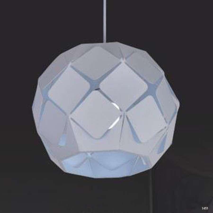 Đèn thả hiện đại những ô vuông nhỏ xếp tròn 350210