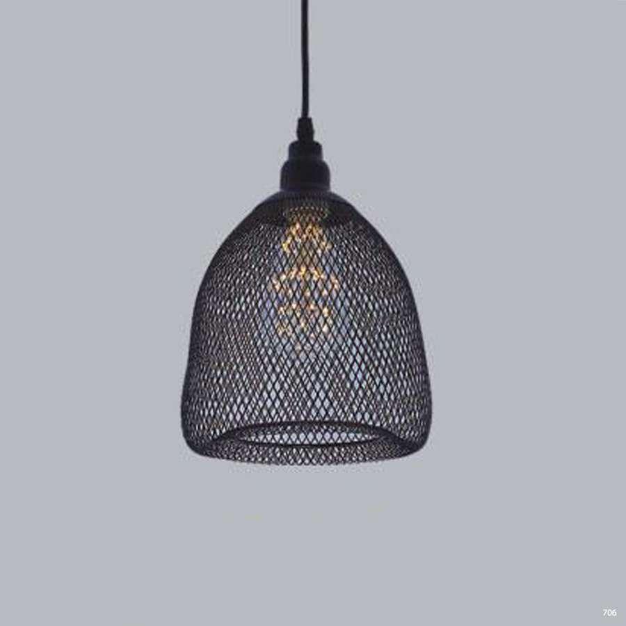 Đèn thả trần nghệ thuật chao lưới 1 bóng hiện đại DTK3697/1