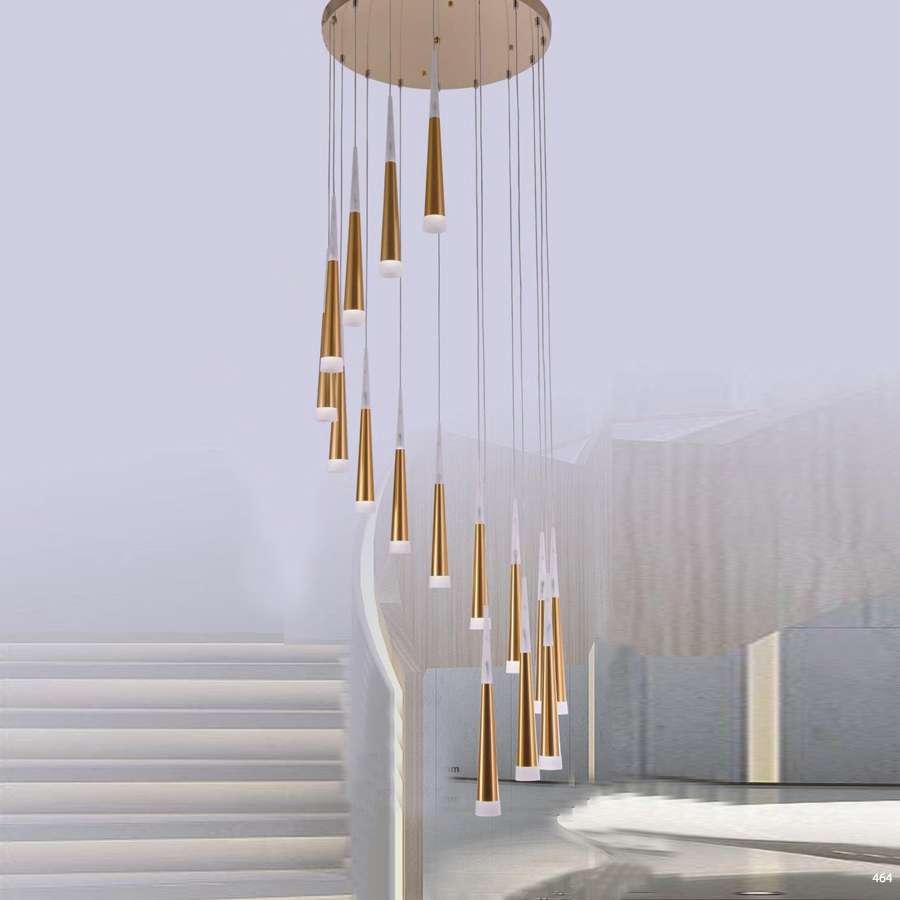 Đèn thông tầng cao cấp phù hợp cho không gian nhà hàng khách sạn giá rẻ nhất DY2011/16