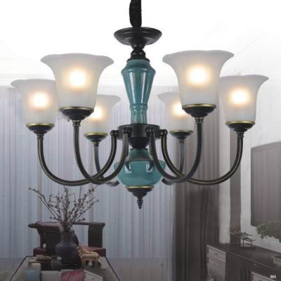 Đèn chùm hiện đại trang trí đèn bằng hợp kim cao cấp và chóa đèn bằng thủy tinh sang trọng giá rẻ nhất  5133/6
