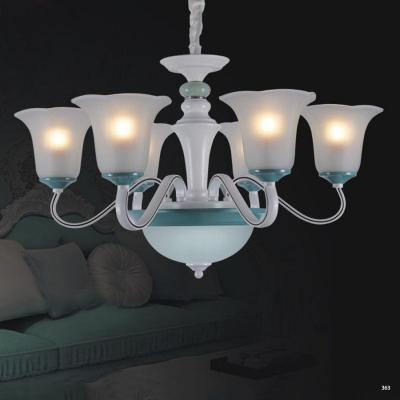 Đèn chùm hiện đại trang trí đèn bằng hợp kim cao cấp và chóa đèn bằng thủy tinh sang trọng giá rẻ nhất 5259/6