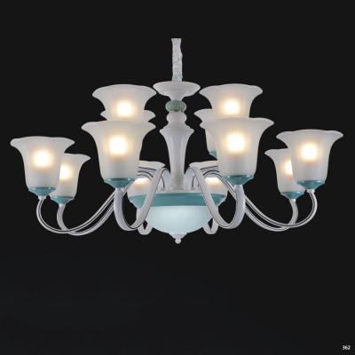 Đèn chùm hiện đại trang trí đèn bằng hợp kim cao cấp và chóa đèn bằng thủy tinh sang trọng giá rẻ nhất 5259/8+4