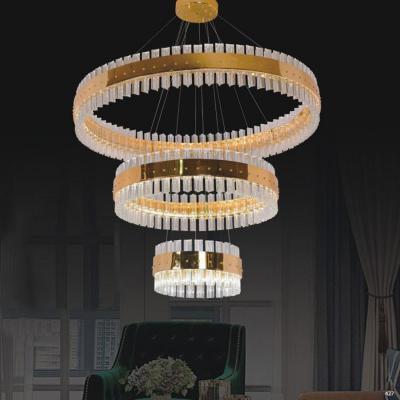 Đèn chùm hiện đại trang trí pha lê 3 tầng DYB-05