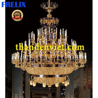 Đèn chùm nến trang trí cao cấp 33741-145+10+45