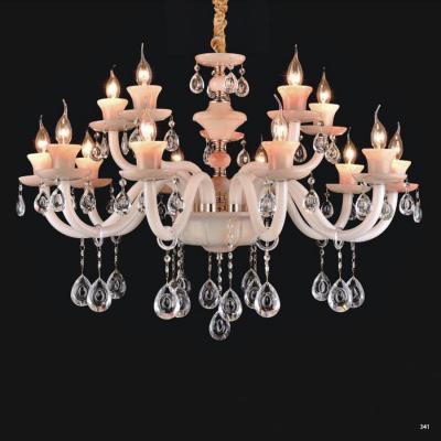 Đèn chùm nến trang trí hiện đại đèn bằng hợp kim và pha lê trong suốt cao cấp sang trọng giá rẻ nhất PLN2006/12