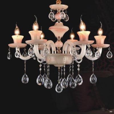 Đèn chùm nến trang trí hiện đại đèn bằng hợp kim và pha lê trong suốt cao cấp sang trọng giá rẻ nhất PLN2006/6