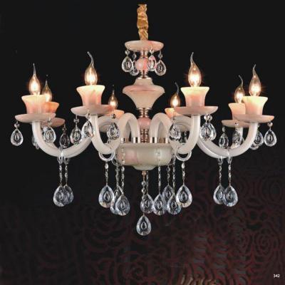 Đèn chùm nến trang trí hiện đại đèn bằng hợp kim và pha lê trong suốt cao cấp sang trọng giá rẻ nhất PLN2006/8