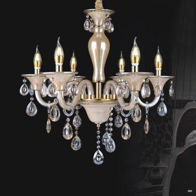 Đèn chùm nến trang trí hiện đại đèn bằng hợp kim và pha lê trong suốt cao cấp sang trọng PLN2008/6