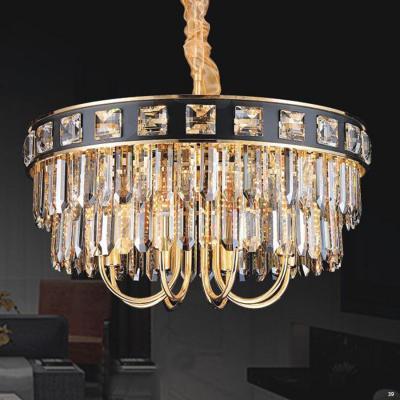 Đèn chùm pha lê cao cấp kiểu dáng sang trọng phù hợp trang trí khách sạn, nhà hàng cao cấp 8011-800
