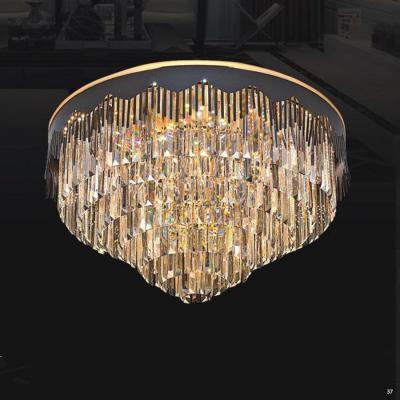 Đèn chùm pha lê cao cấp kiểu dáng sang trọng phù hợp trang trí khách sạn, nhà hàng cao cấp 8028