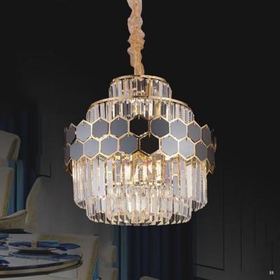Đèn chùm pha lê cao cấp kiểu dáng sang trọng phù hợp trang trí khách sạn, nhà hàng cao cấp 8029-450