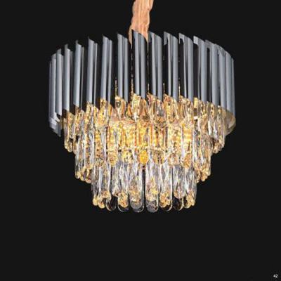 Đèn chùm pha lê cao cấp kiểu dáng sang trọng phù hợp trang trí khách sạn, nhà hàng cao cấp D8010-450