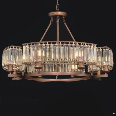 Đèn chùm pha lê cao cấp kiểu dáng sang trọng phù hợp trang trí khách sạn, nhà hàng cao cấp D8801-800
