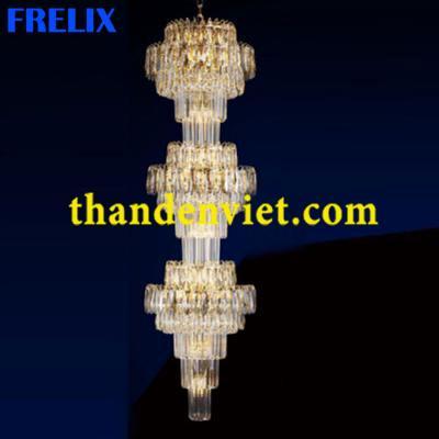 Đèn chùm pha lê cao cấp thiết kế tinh xảo 3762