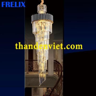 Đèn chùm pha lê cao cấp thiết kế tinh xảo 8025