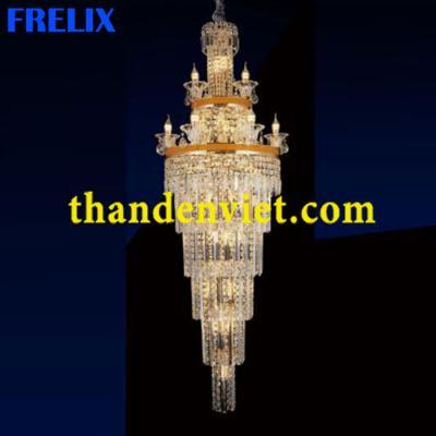 Đèn chùm pha lê cao cấp thiết kế tinh xảo 8093