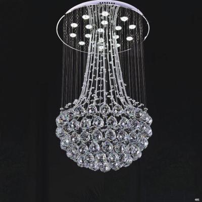 Đèn chùm pha lê đẳng cấp phù hợp trang trí nhà hàng tiệc cưới CTPL6850/450
