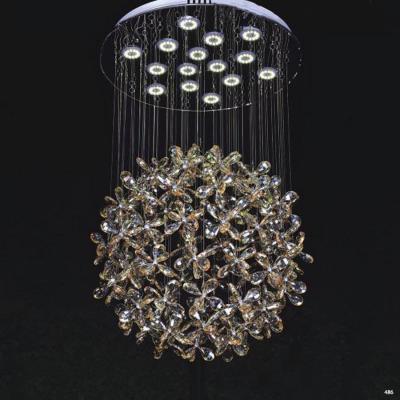 Đèn chùm pha lê phù hợp trang trí nhà hàng tiệc cưới CTPL6633/450