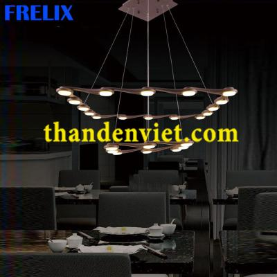 Đèn chùm thả led cao cấp kiểu dáng hiện đại 9118/16