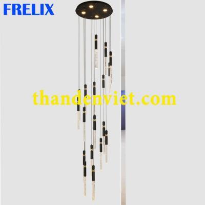 Đèn chùm thả led cao cấp thiết kế độc đáo 2008-18