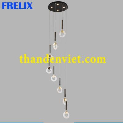 Đèn chùm thả led cao cấp thiết kế độc đáo 2010-8