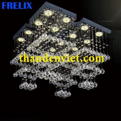 Đèn chùm thả pha lê led cao cấp CTPL-2008/540x540