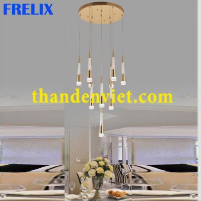 Đèn chùm thả pha lê led cao cấp thiết kế đẹp DY2003/10