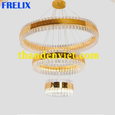 Đèn chùm thả pha lê led hiện đại đẹp giá rẻ DYB-05