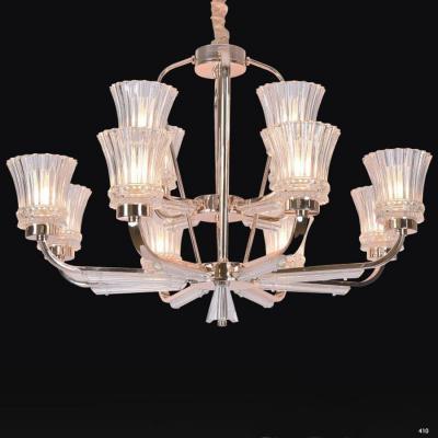 Đèn chùm trang trí hiện đại sang trọng 2 tầng 8539-12