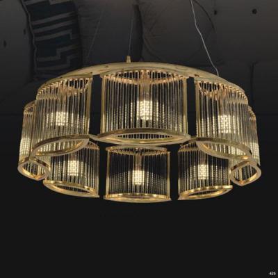 Đèn chùm trang trí pha lê sang trọng hiện đại 6003-8