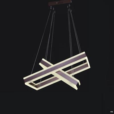 Đèn dây thả cao cấp nghệ thuật hình X 1840C-2