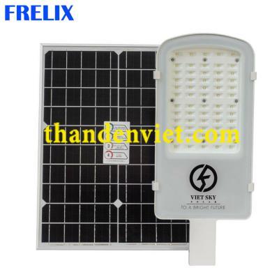 Đèn đường năng lượng mặt trời cao cấp VK800C tấm pin Mono