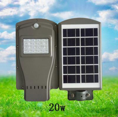 Đèn đường năng lượng mặt trời NK0020 20W