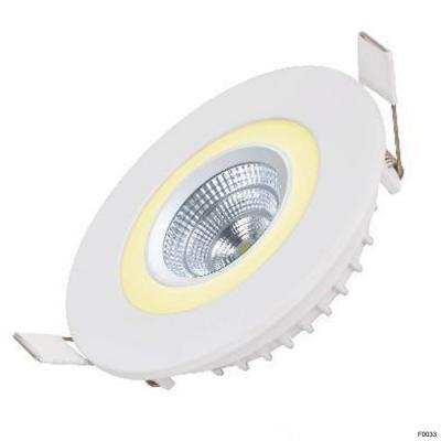 Đèn led âm trần ES-CE6-RD 6+6W