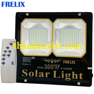 Đèn năng lượng mặt trời FRELIX Solar Light 200W 2 khoang led