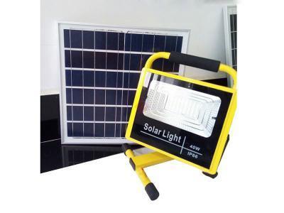 Đèn pha năng lượng mặt trời xách tay DC 40W