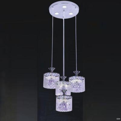 Đèn thả bàn ăn thủy tinh DCT-1001-4