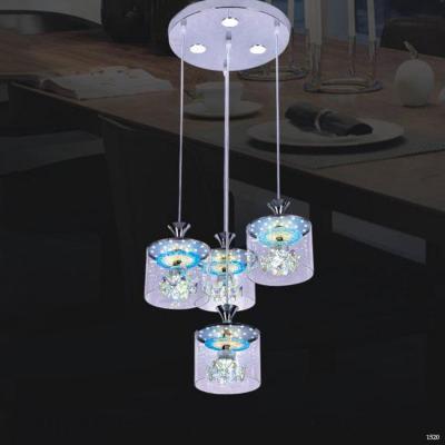 Đèn thả bàn ăn thuỷ tinh sang trọng DCT-1008-4