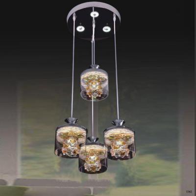 Đèn thả cao cấp 4 bóng đèn led 34774