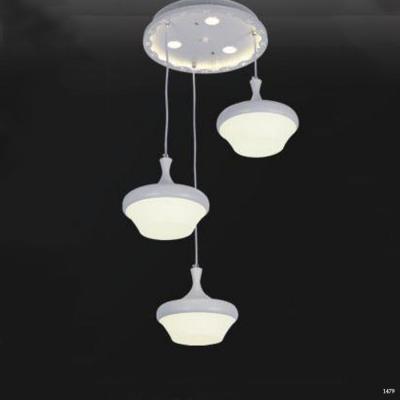 Đèn thả dây 3 bóng led mẫu mới F332-3