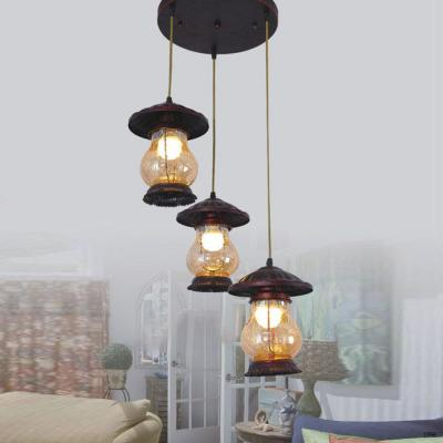 Đèn thả dây cổ điển giá rẻ nhất DTC-6679-3