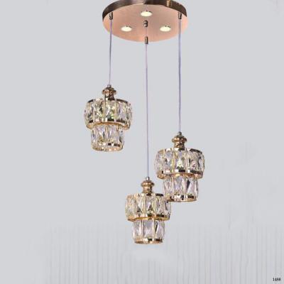 Đèn thả dây hiện đại thiết kế pha lê DTPL1802/3