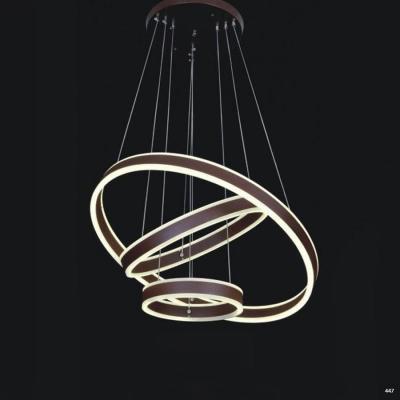 Đèn thả dây hoạ tiết những vòng tròn lồng ghép vào nhau 1839C-3