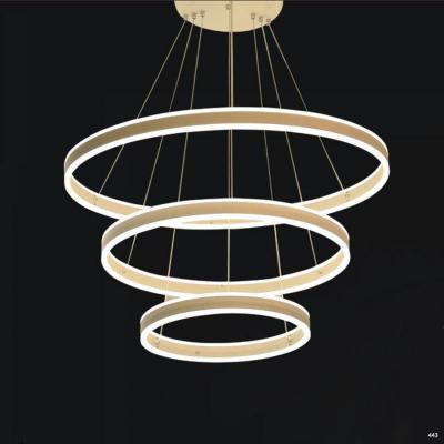 Đèn thả dây thông tầng hình vòng tròn 1024-3
