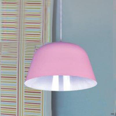Đèn thả hiện đại choá đèn màu hồng TS2712