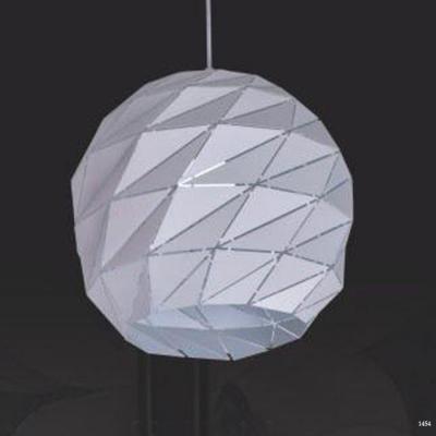Đèn thả hiện đại những hình tam giác nhỏ xếp tròn 320106