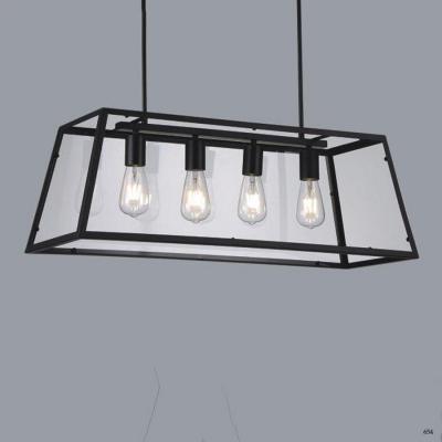Đèn thả hộp chữ nhật trang trí 4 bóng đèn giá rẻ nhất DTK12705